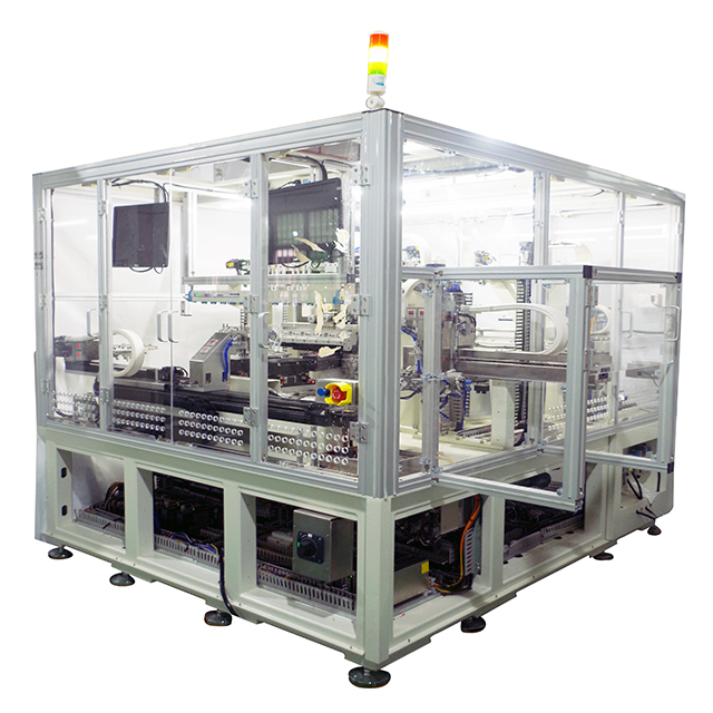 Dual-station LCD grinding cleaning machine